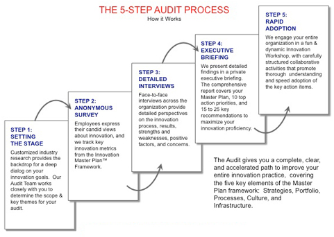 innovation audit process